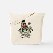 Good Taste Zombie Girl Tote Bag