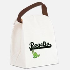 Rogelio Classic Name Design with Canvas Lunch Bag