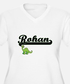 Rohan Classic Name Design with D Plus Size T-Shirt