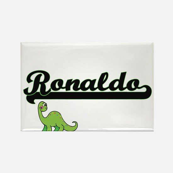 Ronaldo Classic Name Design with Dinosaur Magnets