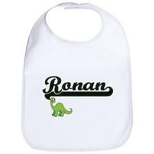 Ronan Classic Name Design with Dinosaur Bib