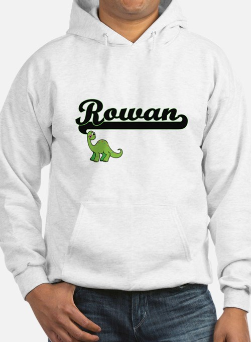 Rowan Classic Name Design with D Hoodie