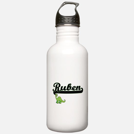 Ruben Classic Name Des Water Bottle
