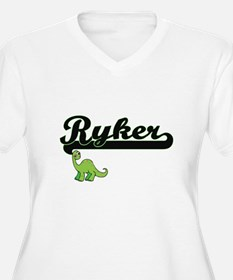Ryker Classic Name Design with D Plus Size T-Shirt