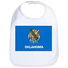 Oklahoma State Flag Bib