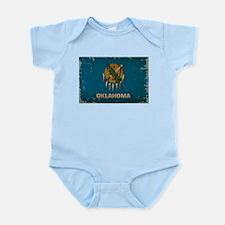 Oklahoma State Flag Infant Bodysuit