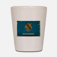 Oklahoma State Flag Shot Glass