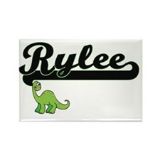 Rylee Classic Name Design with Dinosaur Magnets