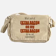 Extra Bacon Messenger Bag