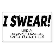 Drunken Sailor Decal