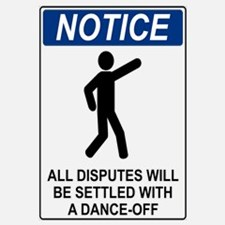Notice Dance Off