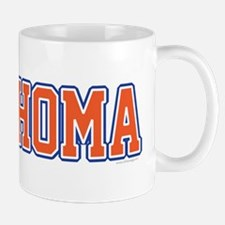 Oklahoma Jersey Font Mug