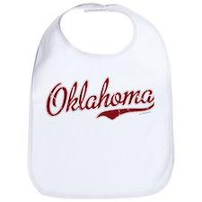 Oklahoma Script Font Garnet Bib