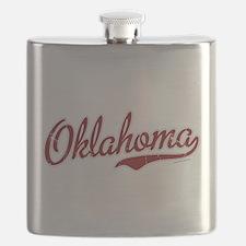 Oklahoma Script Font Garnet Flask