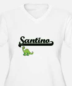 Santino Classic Name Design with Plus Size T-Shirt