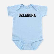 Oklahoma Jersey Font Infant Bodysuit