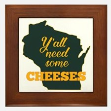 Need Cheeses Framed Tile