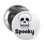 Spooky (skull) Button