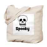 Spooky (skull) Tote Bag