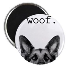 Unique German shepherd Magnet