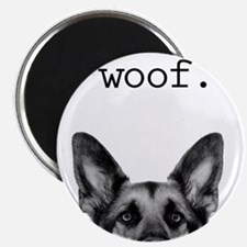 Cute German shepherd Magnet