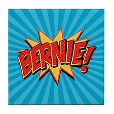 Comics Geeks 4 Bernie Tile Coaster