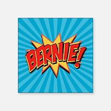 "Comics Geeks 4 Bernie Square Sticker 3"" x 3"""