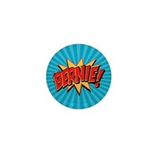 Comics Geeks 4 Bernie Mini Button
