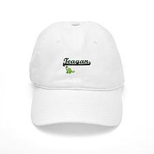 Teagan Classic Name Design with Dinosaur Baseball Cap