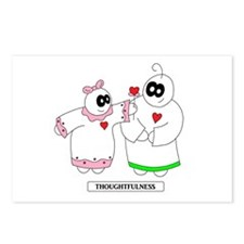 1 LUV - Thoughtfulness Postcards (Package of 8)