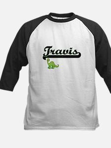 Travis Classic Name Design with Di Baseball Jersey