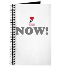 Be Kind Now! Journal