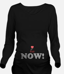 BE KIND NOW! Long Sleeve Maternity T-Shirt