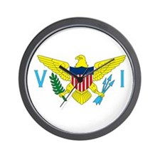 Virgin Islands Wall Clock