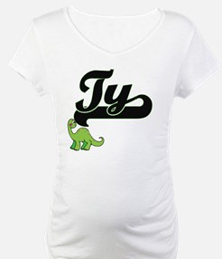 Ty Classic Name Design with Dino Shirt