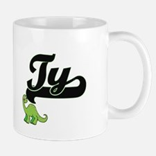 Ty Classic Name Design with Dinosaur Mugs