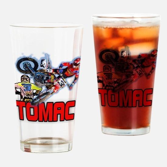 Tomac3 Drinking Glass