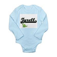 Tyrell Classic Name Design with Dinosaur Body Suit