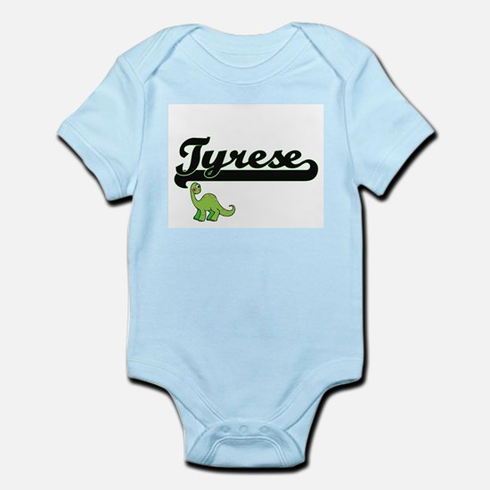 Tyrese Classic Name Design with Dinosaur Body Suit