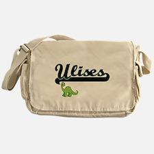 Ulises Classic Name Design with Dino Messenger Bag