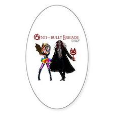Anti~bully Brigade Dho Ii Sticker (oval)