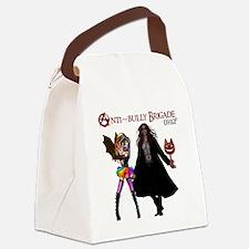Anti~Bully Brigade DHO II Canvas Lunch Bag