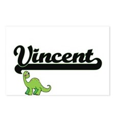 Vincent Classic Name Desi Postcards (Package of 8)