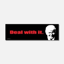 Deal With It. Car Magnet 10 x 3