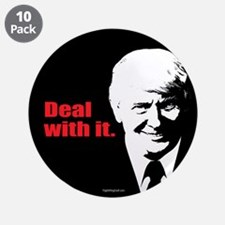 """Deal With It. 3.5"""" Button (10 pack)"""
