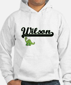 Wilson Classic Name Design with Hoodie