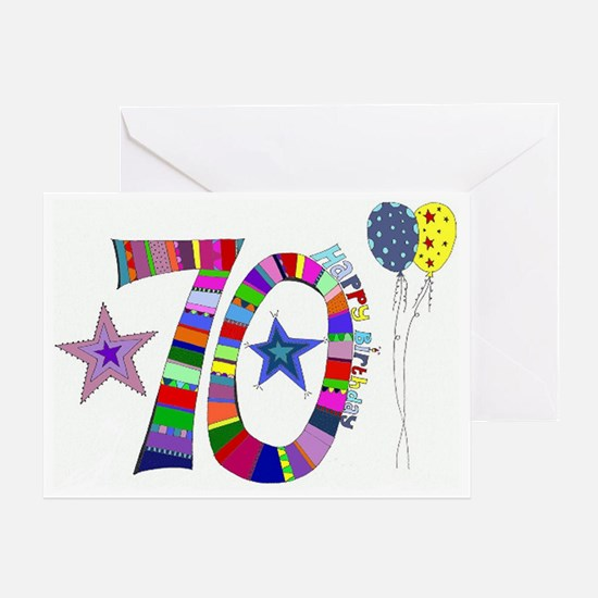 70Th Birthday Greeting Cards Thank You Cards and Custom Cards – Images of Birthday Greeting Cards