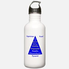 Argentinian Food Pyramid Water Bottle