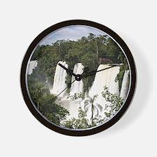 Iguazu Falls, Argentina, South America Wall Clock