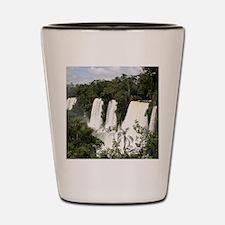 Iguazu Falls, Argentina, South America Shot Glass